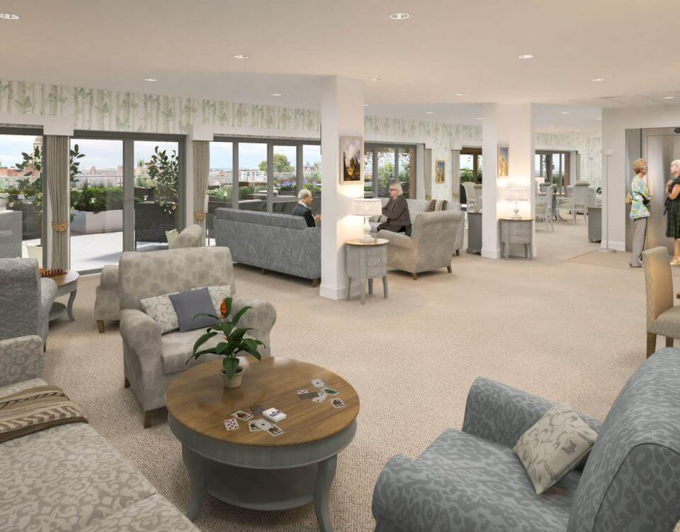 Interior Lounge CGI