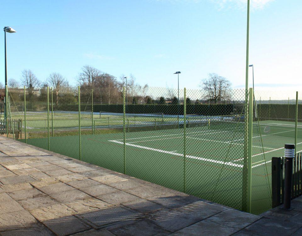CGI Visualisation Lansdown Tennis Club Bath