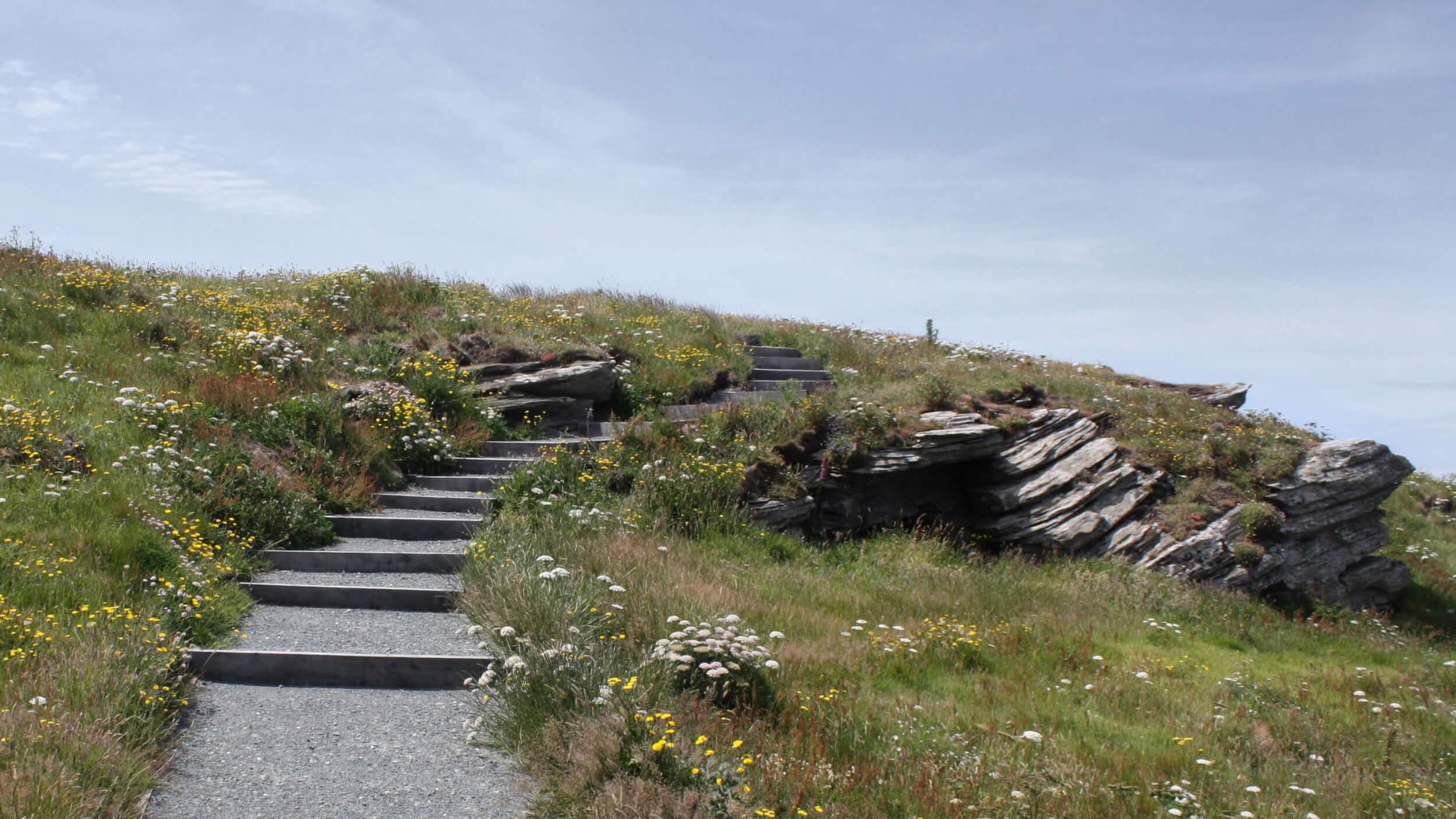 Tintagel Footpaths (As built)