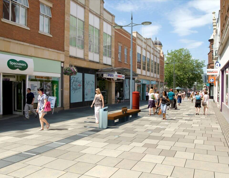 Visually Verified View Regent Street Swindon